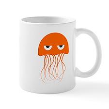 Orange Jellyfish Small Mug