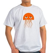 Orange Jellyfish T-Shirt