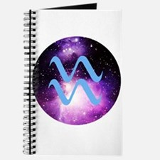 Aquarius Symbol Journal