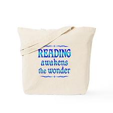 Reading Awakens Tote Bag