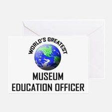 MUSEUM-EDUCATION-OFF89 Greeting Card