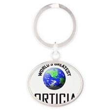 MORTICIAN66 Oval Keychain