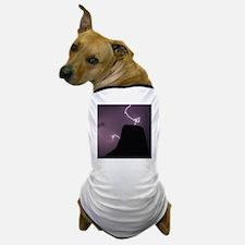Spacetime Lights Up Dog T-Shirt