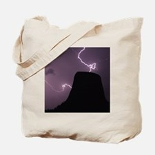 Spacetime Lights Up Tote Bag