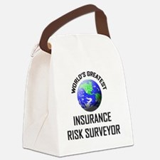 INSURANCE-RISK-SURVE90 Canvas Lunch Bag