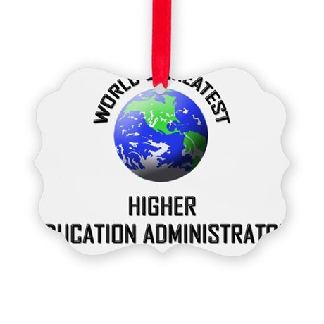 HIGHER-EDUCATION-ADM124 Picture Ornament