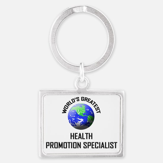 HEALTH-PROMOTION-SPE132 Landscape Keychain