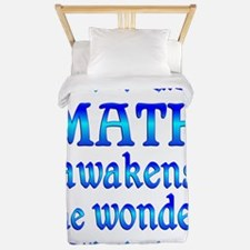 Math Awakens Twin Duvet
