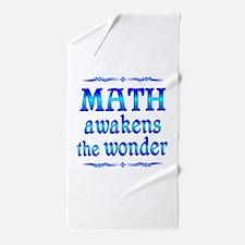 Math Awakens Beach Towel