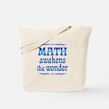 Math Awakens Tote Bag