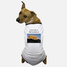 lincoln memorial washington g Dog T-Shirt