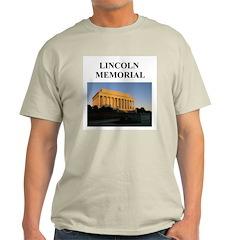 lincoln memorial washington g Ash Grey T-Shirt