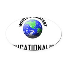 EDUCATIONALIST120 Oval Car Magnet