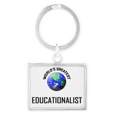 EDUCATIONALIST120 Landscape Keychain