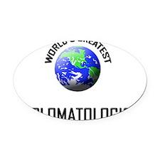 DIPLOMATOLOGIST98 Oval Car Magnet
