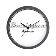Birmingham, Alabama 4 Wall Clock