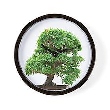 Punica Granatum bonsai Wall Clock
