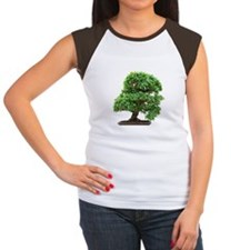 Punica Granatum bonsai Women's Cap Sleeve T-Shirt