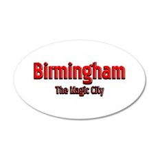 Birmingham, The Magic City 1 Wall Decal