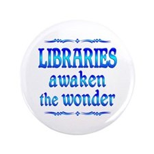 "Libraries Awaken 3.5"" Button"