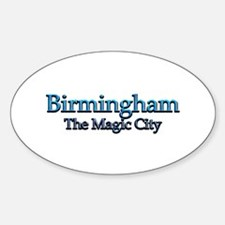 Birmingham, The Magic City 2 Decal