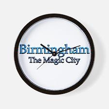 Birmingham, The Magic City 2 Wall Clock