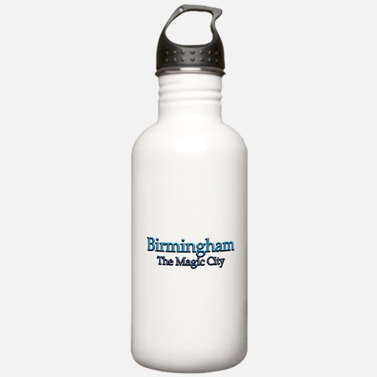 Birmingham, The Magic City 2 Water Bottle