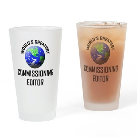 COMMISSIONING-EDITOR72 Drinking Glass