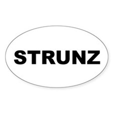 Strunz Oval Decal