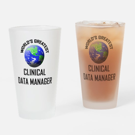 CLINICAL-DATA-MANAGE1 Drinking Glass