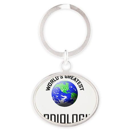 CARDIOLOGIST143 Oval Keychain