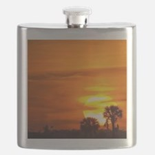 Sunset on Fire Flask