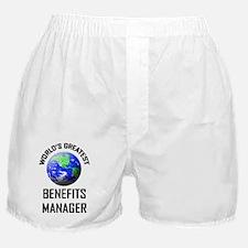 3-BENEFITS-MANAGER44 Boxer Shorts