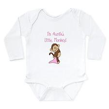Auntie's Monkey(pink) Body Suit