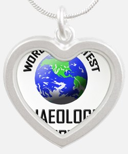 ARCHAEOLOGICAL-CONSE136 Silver Heart Necklace
