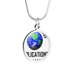 APPLICATIONS-PROGRAM46 Silver Round Necklace