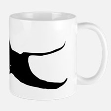 Black Sting Ray Small Mug