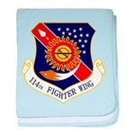 114th FW baby blanket
