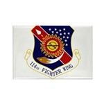 114th FW Rectangle Magnet (100 pack)