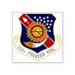 114th FW Square Sticker 3