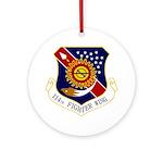 114th FW Ornament (Round)