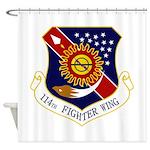 114th FW Shower Curtain