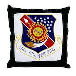 114th FW Throw Pillow
