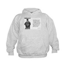 What Would Churchill Do - Never Surrender Hoodie