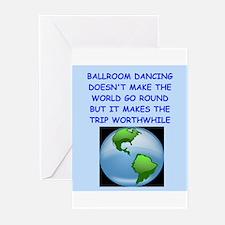 ballroom dancing Greeting Cards (Pk of 20)