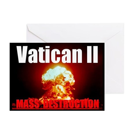 Vatican 2 Greeting Cards (Pk of 10)
