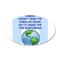 comedy Wall Decal