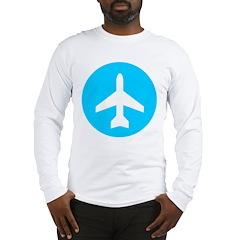 Train to the Plane Long Sleeve T-Shirt