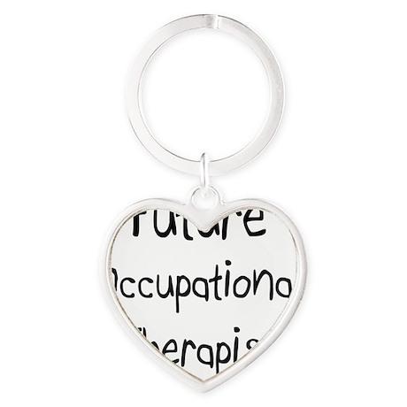 Occupational-Therapi42 Heart Keychain
