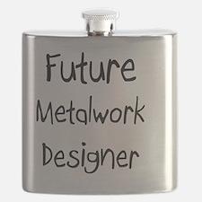Metalwork-Designer116 Flask